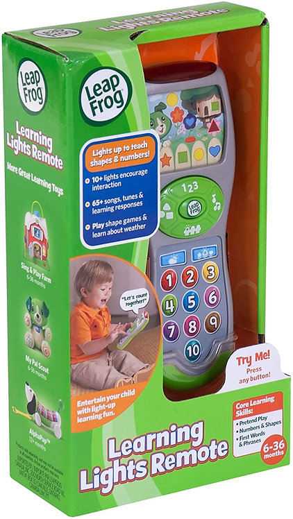 LeapFrog Scout's Learning Lights Remote Great Gift For Kids, Toddlers, Toy for B