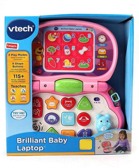 Vtech Learning Laptop - Multicolor