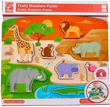 Wild Animal Puzzle & Play