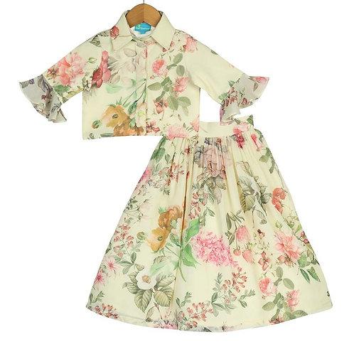 Victorian Garden Skirt Top