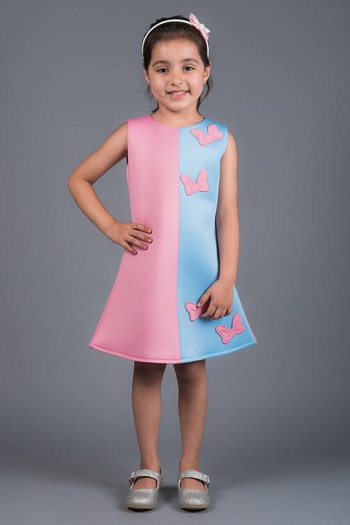 Elsie A Line  Dress