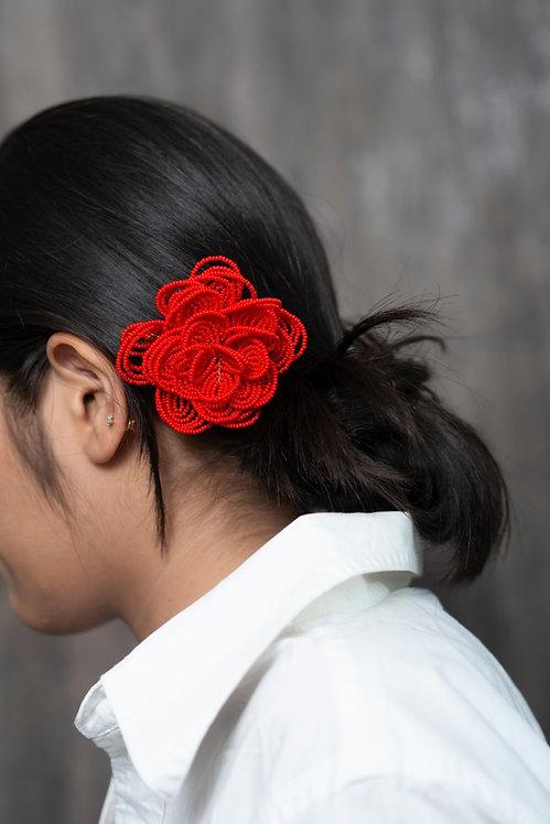 The Harriet Designer Flower Hairclip