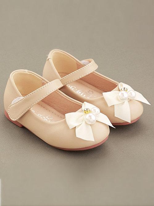 White Bow Ballerina