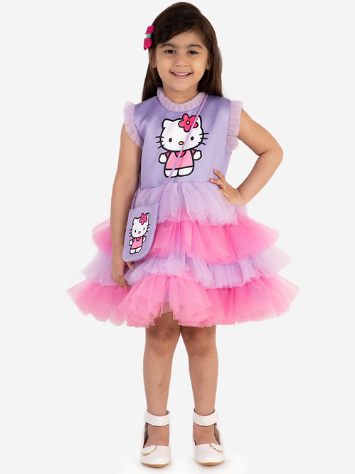 Hello Kitty Lavender Dress