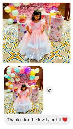 Pink Flower Dream Gown