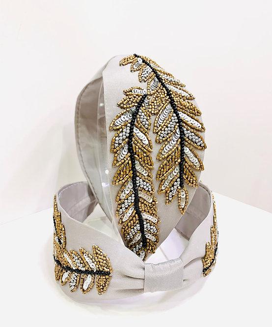 Leaves Twinning Hairband