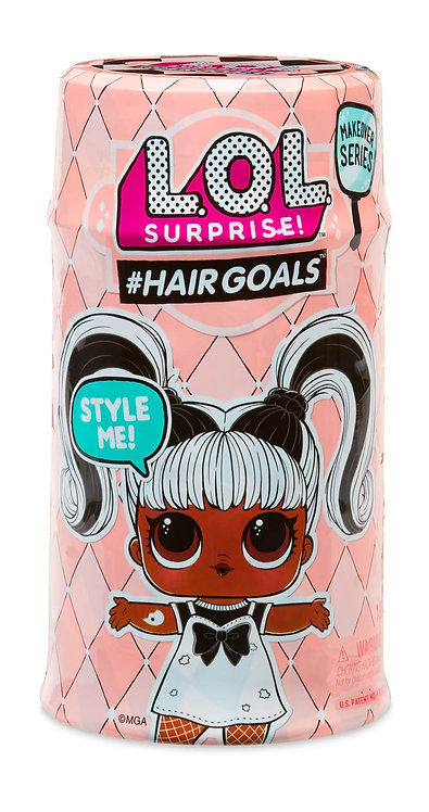 L.O.L. Surprise Hairgoals Makeover Series with 15 Surprises for Girls Age 5 and