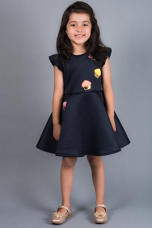 Eleena Blue Neo Dress