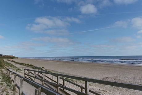 2104 Bacton beach path copyright Charlot