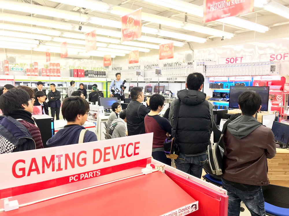 アプライド鹿児島店『ストリートファイターⅤ』ゲーミングPC体験・対戦イベントレポート