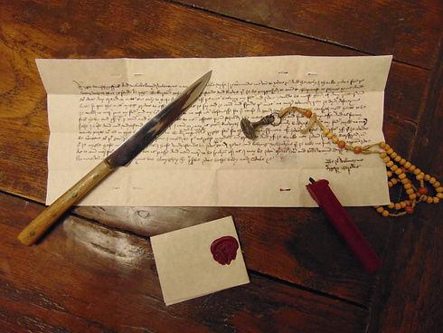 medieva letter writing.JPG
