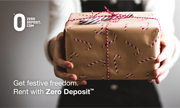 🎄 Save money this Christmas with Zero deposit guarantee.