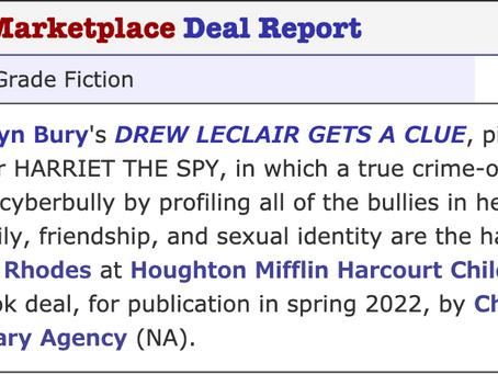 DREW LECLAIR GETS A CLUE, coming Spring 2022!