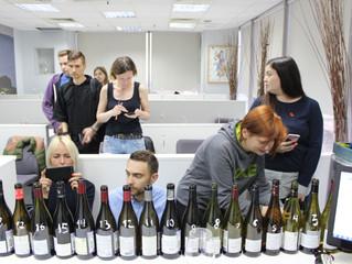 Сравнительная дегустация луарских вин из сорта каберне фран