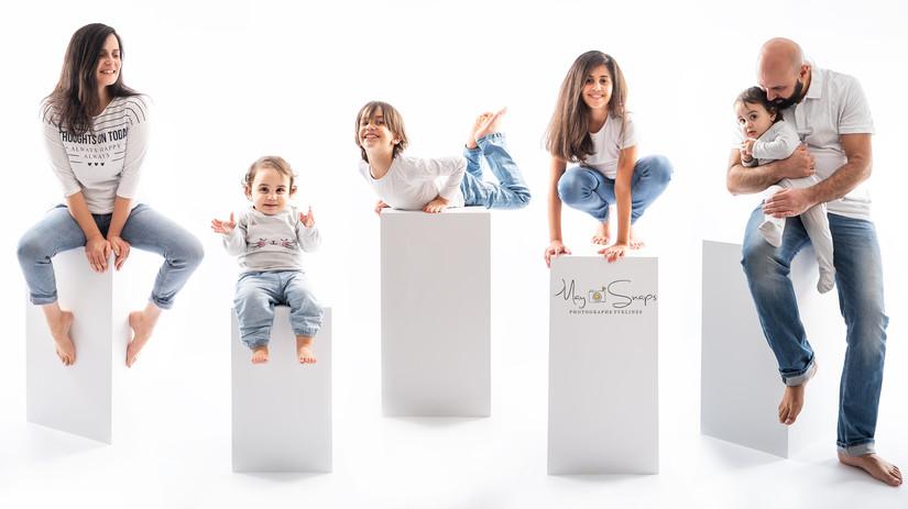 séance photo famille on the blocks