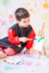 Photographe   Yvelines   Studio   Peinture   Enfant   Maysnaps