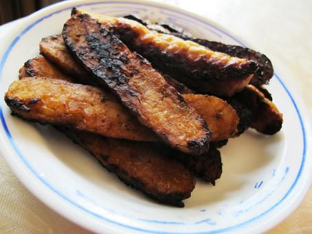 Tempeh Bacon (untuk 2 orang)