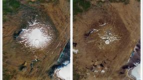 Gletser di Islandia Hilang Begitu Saja akibat Pemanasan Global