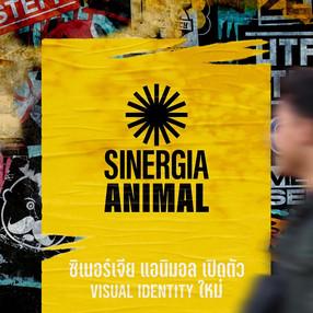 ซิเนอร์เจีย แอนิมอลเปิดตัว visual identity ใหม่