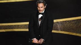 Joaquin Phoenix dedica discurso a los derechos animales al ganar el Óscar