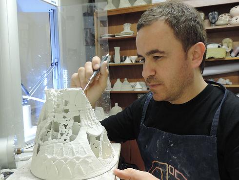 3D Printed Ceramic Artist