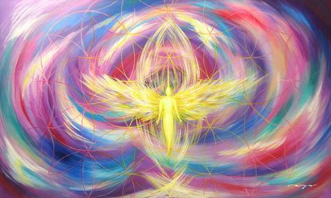 Angel de la Alegría y la Liberación