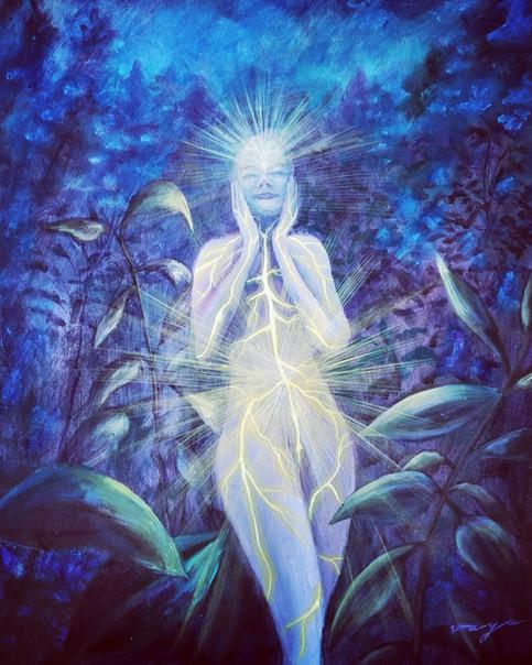 Minha luz interior ilumina todas as trevas