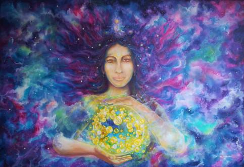 Todos nós fomos criados da luz amorosa divina