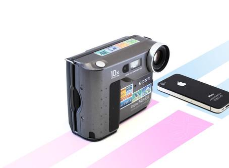 NOCHE DE LA NOSTALGIA: 31 cámaras más importantes de la historia de la fotografía digital.
