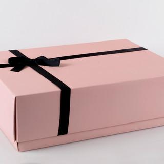 caja de regalo rosada