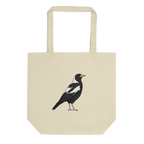 Welcome To Australia/ Magpie - Eco Tote Bag