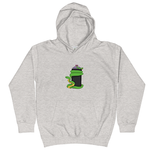 Snake in a Can - Kids Hoodie