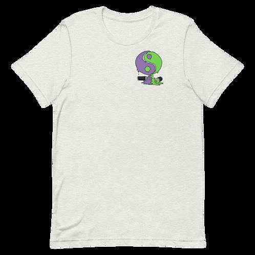 Yin Yan Graffiti Can Short-Sleeve Unisex T-Shirt