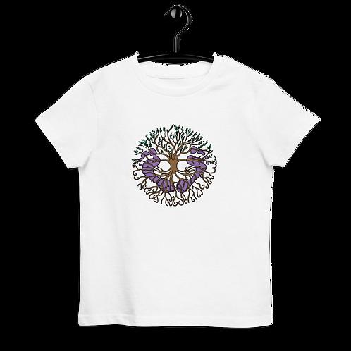 Virtual Footprints Official Merch LOGO - Organic cotton kids t-shirt