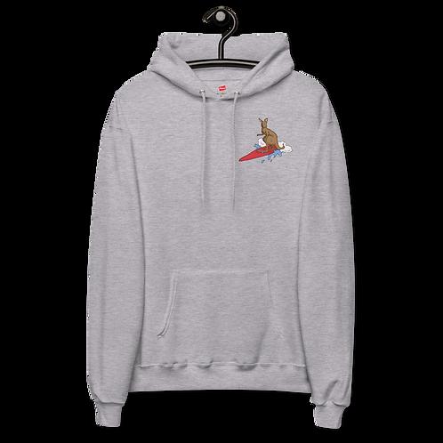 Surfin Roo - Unisex fleece hoodie