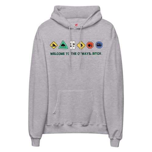 Welcome to the Otways - Adults Version - Unisex fleece hoodie