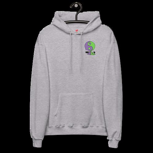 Yin Yan Graffitti Can - Unisex fleece hoodie