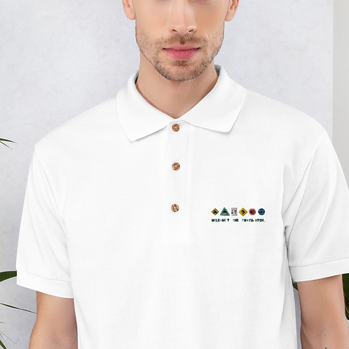 Welcome to the Otways, B Polo Shirt Embroided