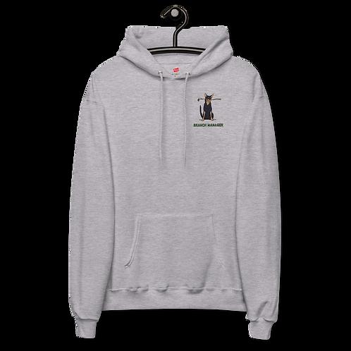 Branch Manager - Unisex fleece hoodie