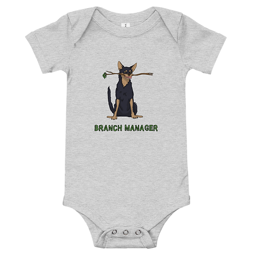 Branch Manager - Baby short sleeve one piece