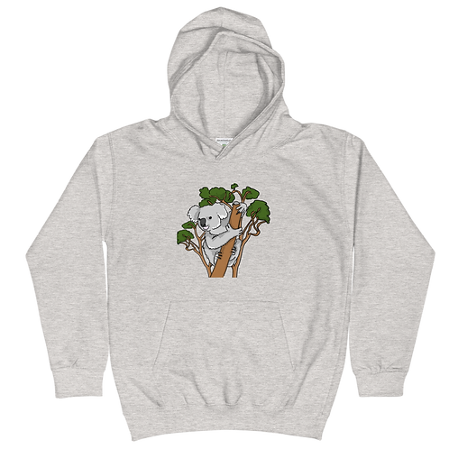 Virtual Footprints Official Merch - Koala - YOUTH Hoodie