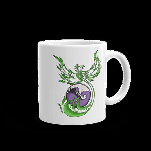 Phonenix Logo - White glossy mug