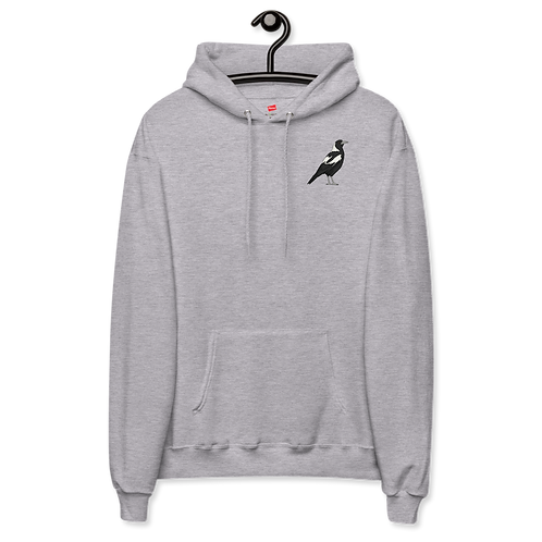 Magpie's Welcome - Unisex fleece hoodie