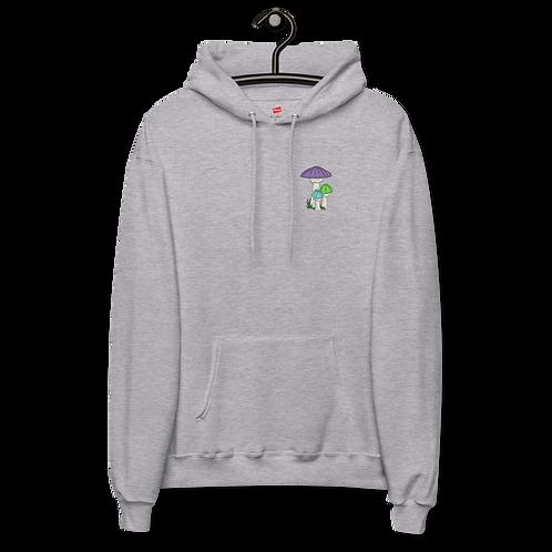 Mushrooms - Unisex fleece hoodie