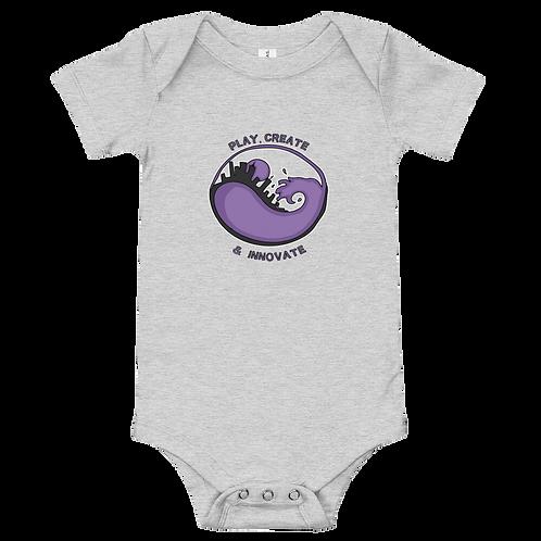 Play Create & Innovate Liberats Logo - Baby short sleeve one piece