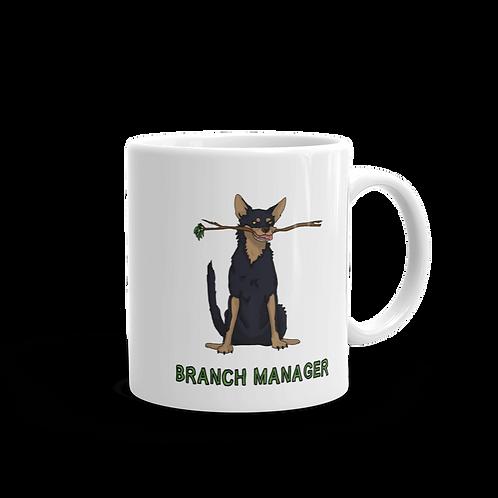 Branch Manager - White glossy mug