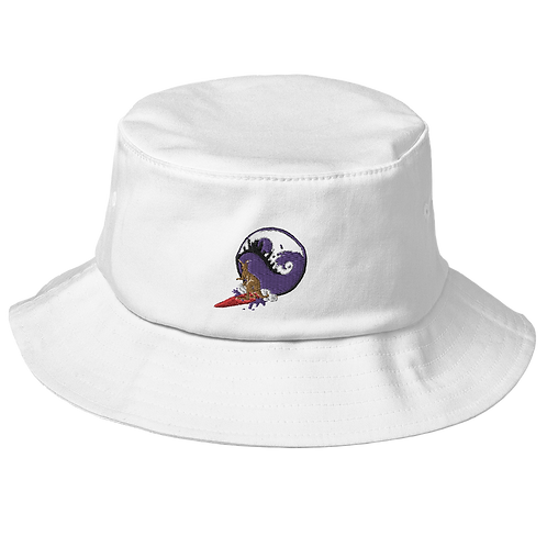 Surfin Roo Embrioded Bucket Hat