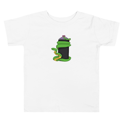 Snake in a Can Toddler Short Sleeve Tee