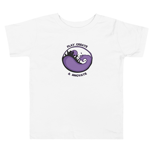 Play Create &Innovate -Liberatas Logo Toddler Short Sleeve Tee