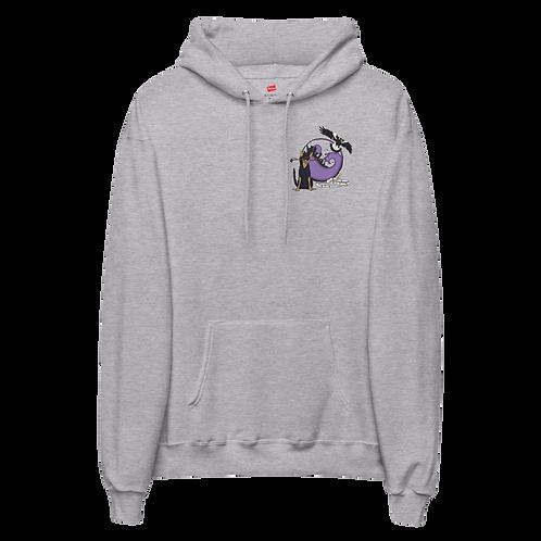 Animal Totem and Logo - Unisex fleece hoodie